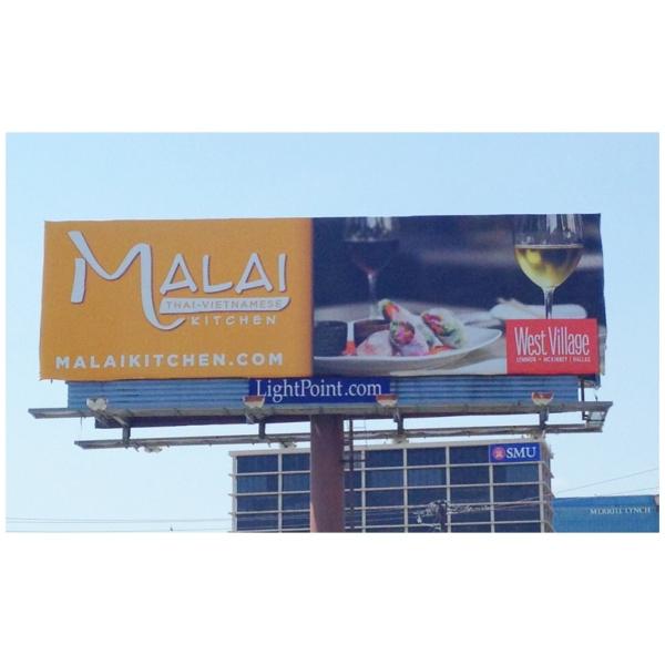 Dallas, Billboards, Claire McCormack Photography, SMU, Malai Thai Kitchen
