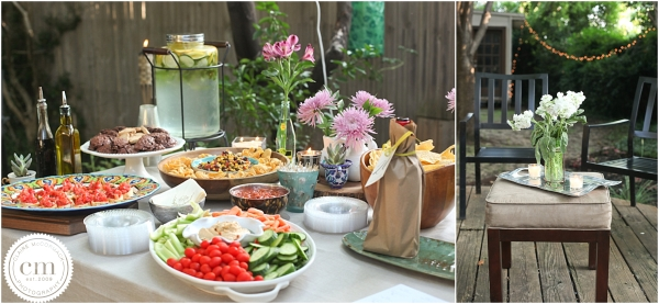 Cottage, Wine Party, Food, Wine, Texas