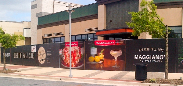 Maggiano's Construction Wrap - Claire McCormack Photography