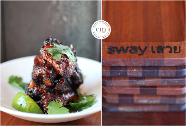 Sway Thai, Austin, Chicken Wings