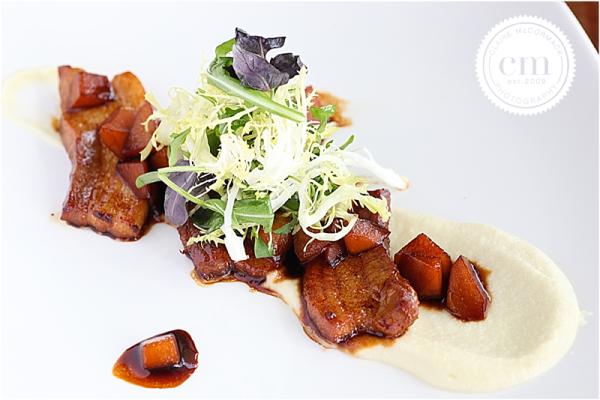 Chef Norman Grimm, Dallas, LTO Kitchen, Trinity Groves, Pork Belly on Polenta
