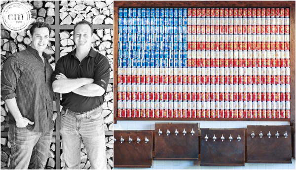 The Rustic, Dallas, Bull & Barrel, Uptown, Homemade Beer Art