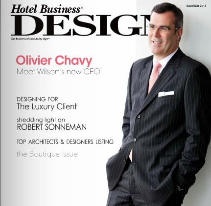 Olivier Chavy, Wilson Associates CEO